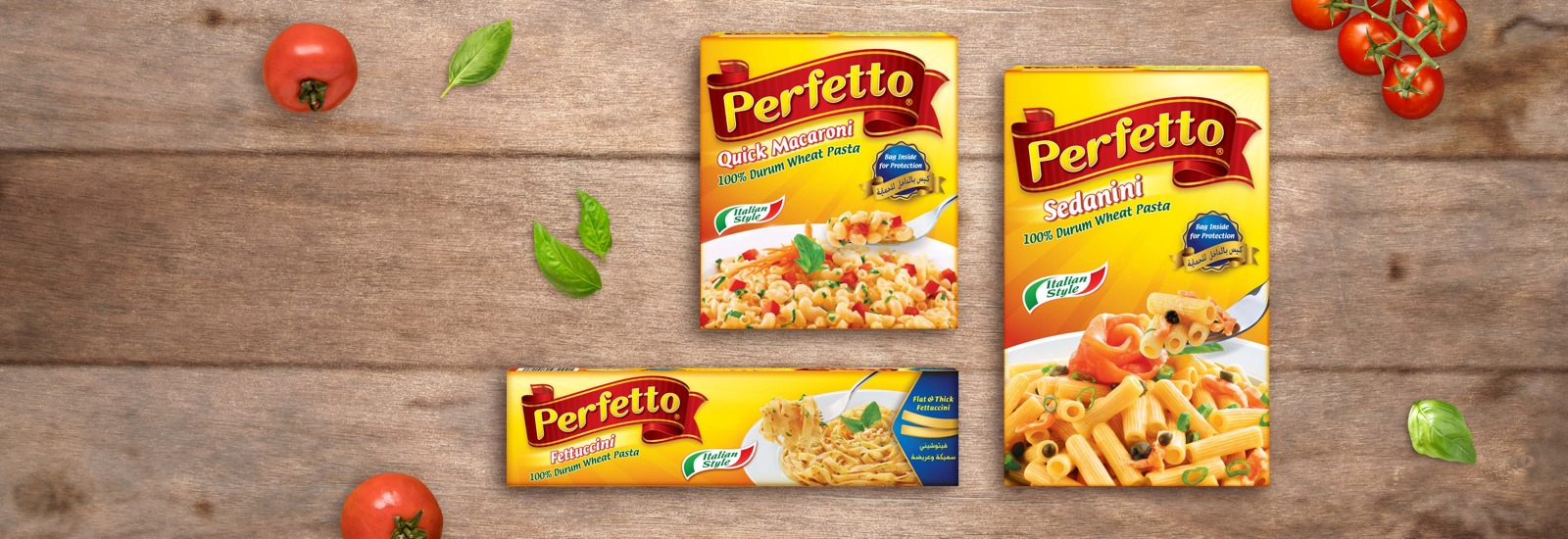Perfetto Pasta Products