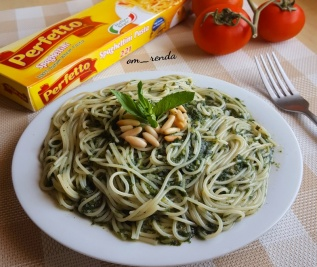 Pesto Spaghettini