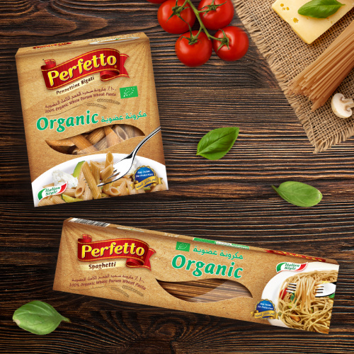 Why is Perffeto's organic pasta so nutritious?