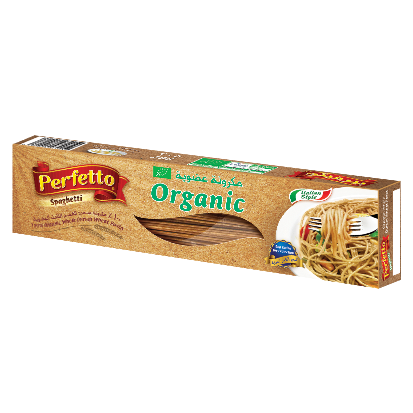 Spaghetti Organic Whole Durum Wheat Pasta
